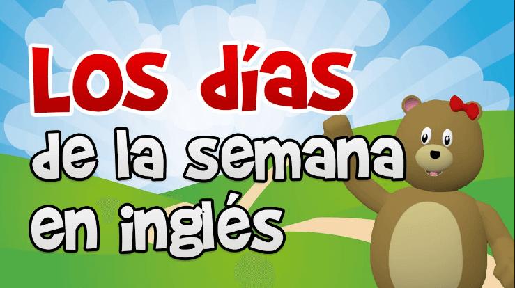 Los Dias De La Semana En Ingles Y Meses on Dibujos Para Imprimir Gratis