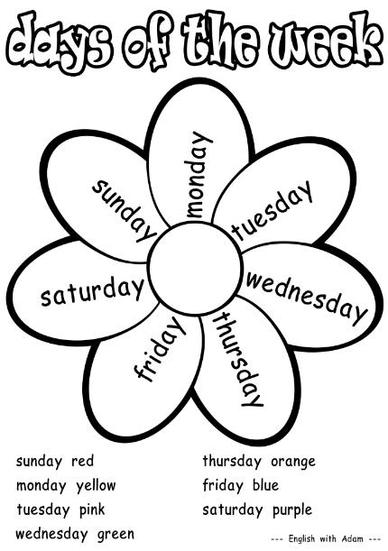 ▷ ¿Cuales son los días de la semana y meses en Inglés? 【2018】