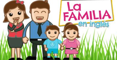 integrantes de la familia en inglés