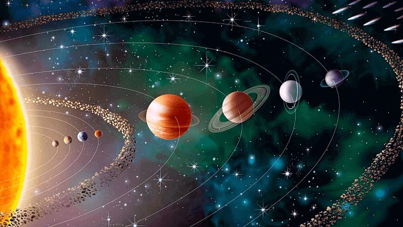 Los planetas en ingles y español