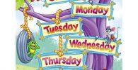 lista de los dias de la semana en ingles