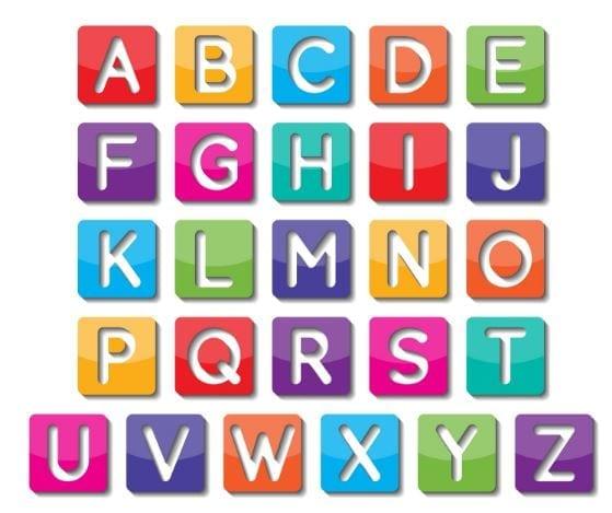 pronunciación alfabeto en ingles