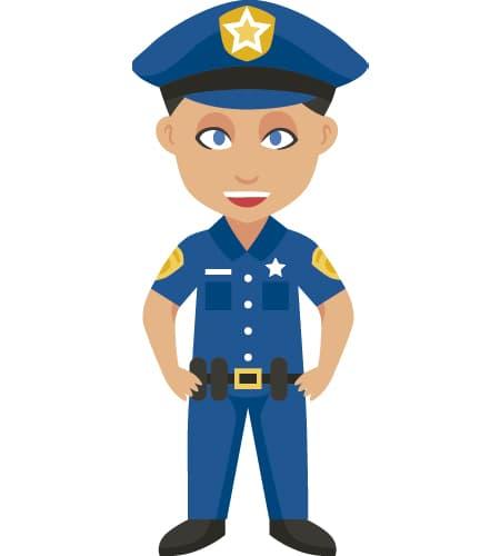 como se escribe policia en ingles
