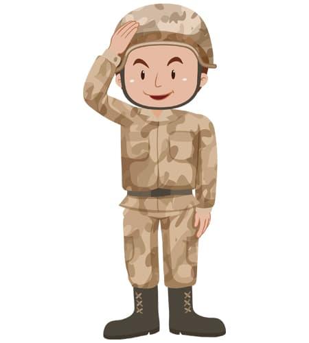 soldado en ingles traduccion con imagen