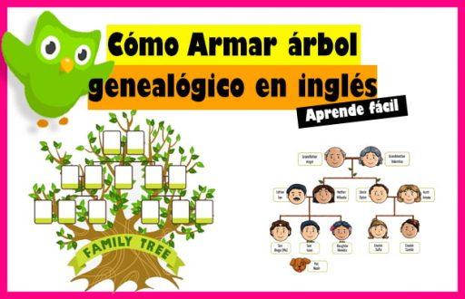 arbol genealogico en ingles para niños