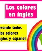 colores en ingles y español