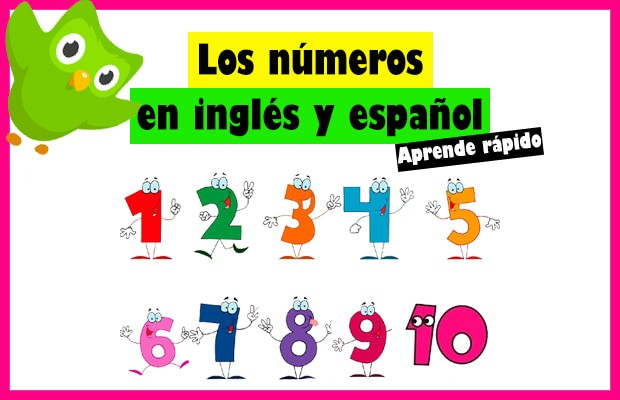 100 Números En Inglés Y Español Aprende Fácil